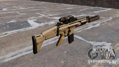 Штурмовая винтовка FN SCAR для GTA 4 второй скриншот