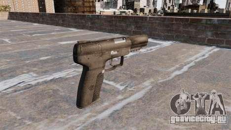 Самозарядный пистолет FN Five-seveN для GTA 4 второй скриншот