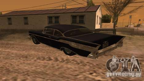 Tornado GTA 5 для GTA San Andreas вид слева