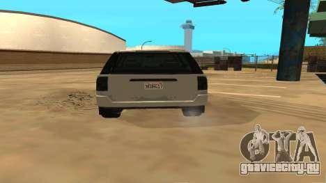 Baller GTA 5 для GTA San Andreas вид справа