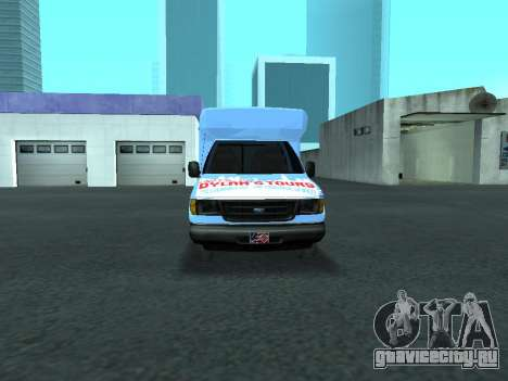 Ford Shuttle Bus для GTA San Andreas вид сбоку