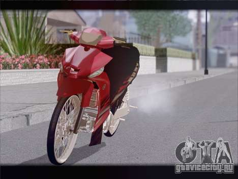 Yamaha Vega ZR для GTA San Andreas вид справа