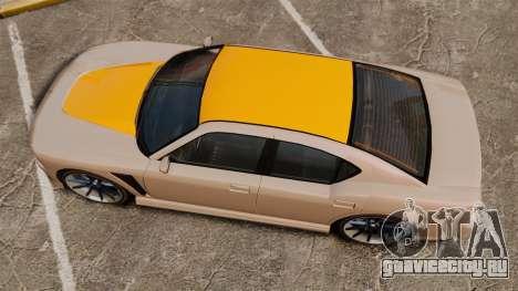 GTA V Bravado Buffalo Supercharged для GTA 4 вид справа
