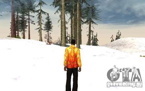 Куртка Сочи 2014 для GTA San Andreas третий скриншот