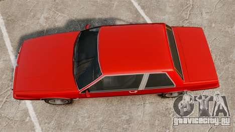 Willard Coupe для GTA 4 вид справа
