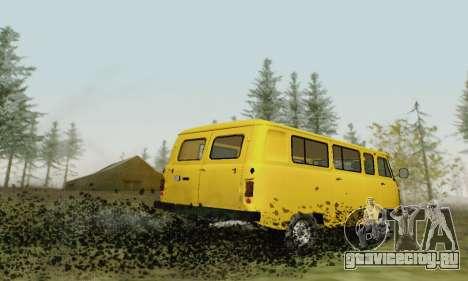 УАЗ 2206 Буханка для GTA San Andreas вид сбоку