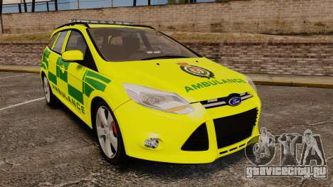 Ford Focus ST Estate 2012 [ELS] London Ambulance для GTA 4