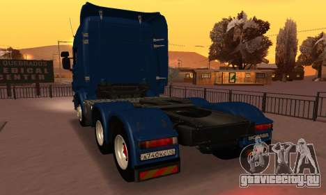 Scania Topline R730 V8 для GTA San Andreas вид слева
