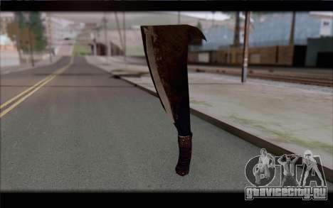 Мачете для GTA San Andreas второй скриншот