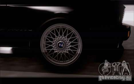 BMW M3 E30 Stock Version для GTA San Andreas вид справа