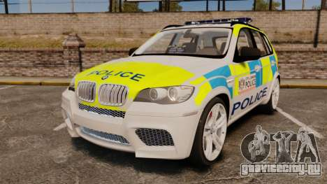 BMW X5 City Of London Police [ELS] для GTA 4