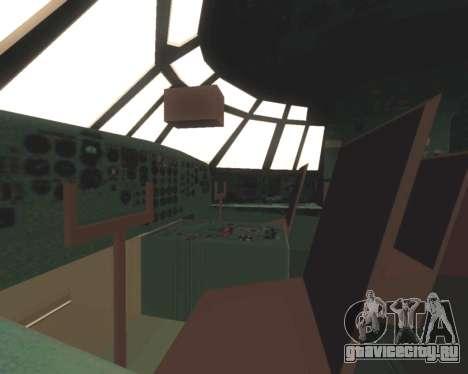 Ил-76ТД МЧС России для GTA San Andreas вид сверху