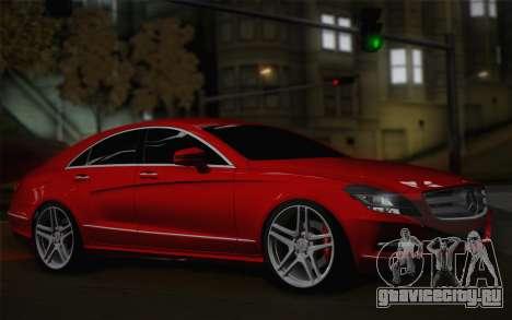 Mercedes-Benz CLS 63 AMG 2012 Fixed для GTA San Andreas вид слева
