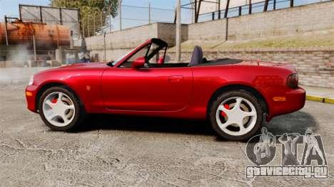 Mazda (Miata) MX-5 для GTA 4 вид слева
