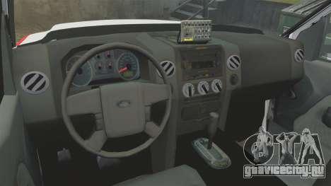 Ford F-350 FDNY Ambulance [ELS] для GTA 4 вид сзади