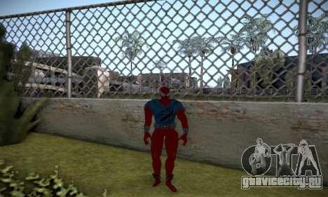 Spider man EOT Full Skins Pack для GTA San Andreas шестой скриншот