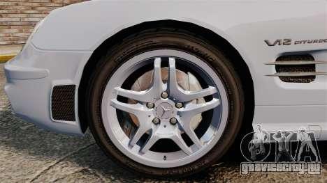 Mercedes-Benz SL65 AMG для GTA 4 вид сзади
