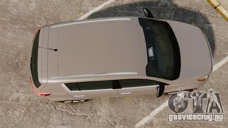 Kia Sportage Unmarked Police [ELS] для GTA 4 вид справа