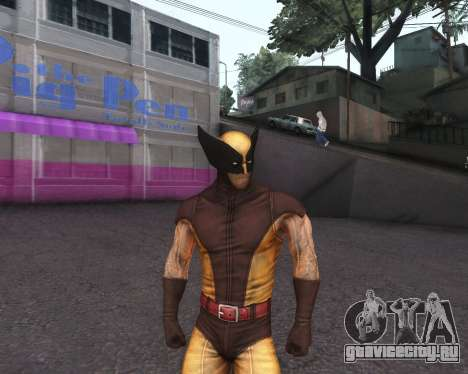 X-men Origins: Wolverine [Skins Pack] для GTA San Andreas