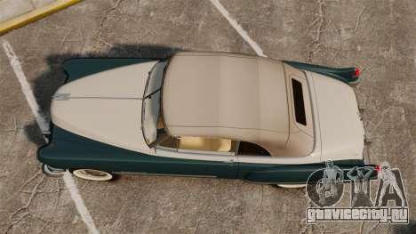 Cadillac Series 62 1949 для GTA 4 вид справа