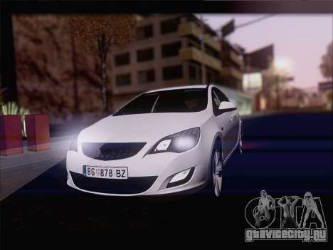 Opel Astra J 2011 для GTA San Andreas