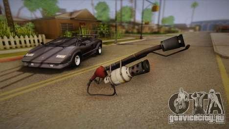 Огнемёт из Team Fortress для GTA San Andreas