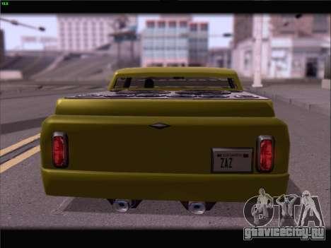 New Slamvan для GTA San Andreas вид сбоку