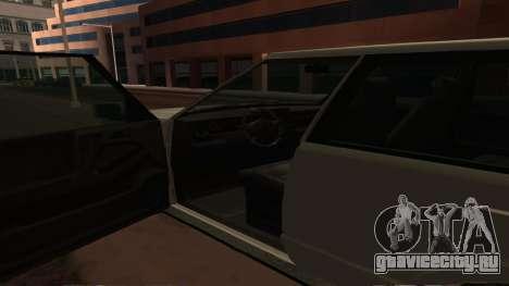 Baller GTA 5 для GTA San Andreas вид сверху