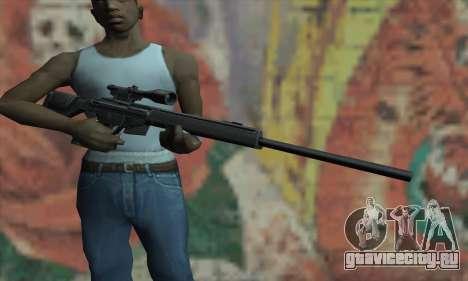 PSG-1 для GTA San Andreas третий скриншот