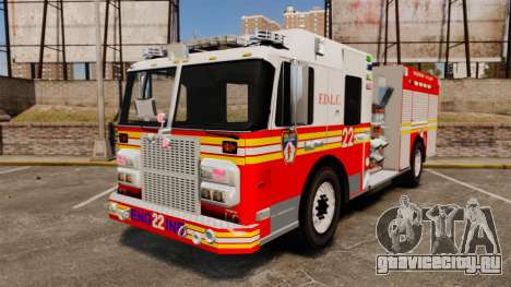 Firetruck FDLC [ELS] для GTA 4