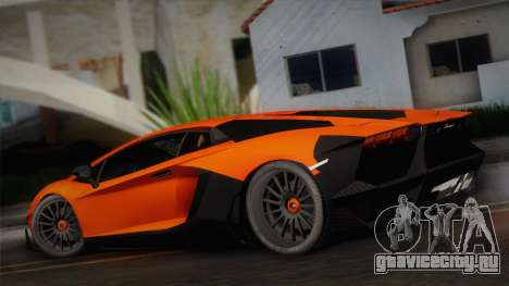 Lamborghini Aventador LP 700-4 RENM Tuning для GTA San Andreas вид слева