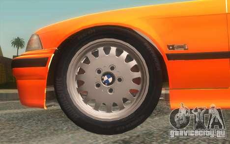 BMW 325i E36 Convertible 1996 для GTA San Andreas вид справа