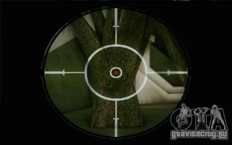 7.62 Снайперская Винтовка Драгунова СВД-С для GTA San Andreas четвёртый скриншот