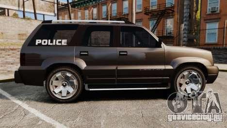 Cavalcade Police для GTA 4 вид слева