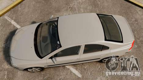 Volvo S60R для GTA 4 вид справа