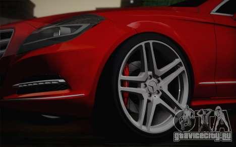 Mercedes-Benz CLS 63 AMG 2012 Fixed для GTA San Andreas