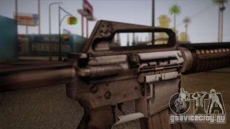 М4 из Max Payne для GTA San Andreas четвёртый скриншот