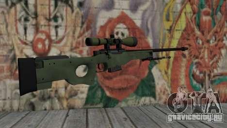 AWP from CS:GO для GTA San Andreas второй скриншот
