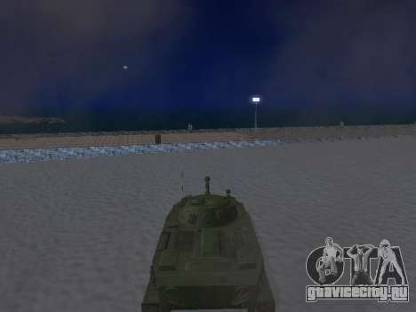 ПТ-76 для GTA San Andreas вид сзади