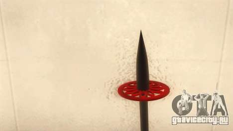 Лыжная палка для GTA San Andreas второй скриншот