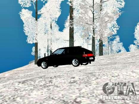 ВАЗ 2112 Купе Черныш для GTA San Andreas вид справа