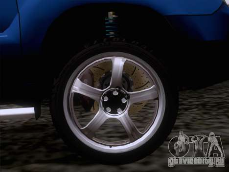 Subaru Forester 2.5XT 2005 для GTA San Andreas вид справа