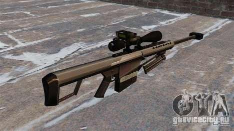 Снайперская винтовка Barrett M82 50 Cal для GTA 4 второй скриншот