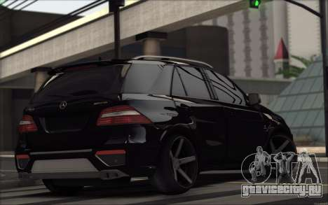 Mercedes-Benz ML63 AMG для GTA San Andreas вид справа