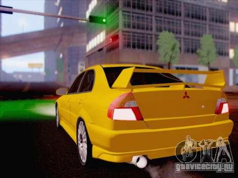 Mitsubishi Lancer Evolution VI LE для GTA San Andreas вид слева