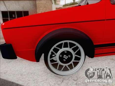 Volkswagen Golf GTI MK1 для GTA San Andreas вид слева