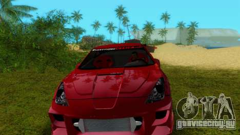 Toyota Celica XTC для GTA Vice City