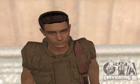 Крис Редфилд v2 для GTA San Andreas третий скриншот