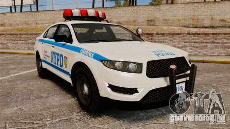 GTA V Police Vapid Interceptor NYPD для GTA 4