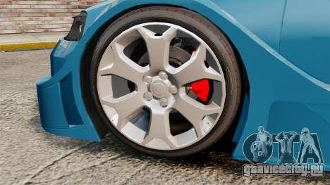 Opel Astra Coupe OPC Road Edition для GTA 4 вид сзади
